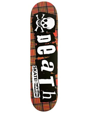 Death Punk Tartan Team Deck - 8