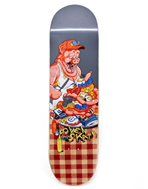 Lovenskate American Breakfast Team Deck - 8.7