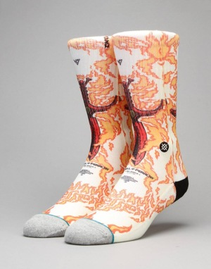 Stance Skate Legends 'Guerrero' Socks - Orange