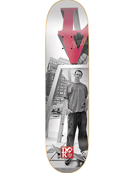 DGK x Mike Blabac Love Park '99 Team Deck - 8.06""
