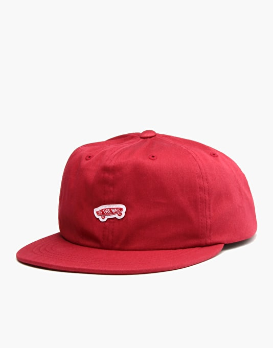 Vans Unstructured OTW Snapback Cap - Beet Red