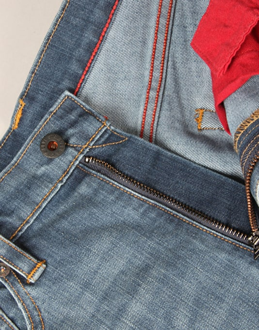 Levi's Skateboarding 504 Regular Straight Jeans - Del Sol