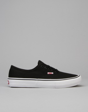 Vans Authentic Pro Skate Shoes - Black/White