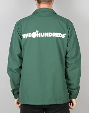 The Hundreds Bar Coach Jacket - Green