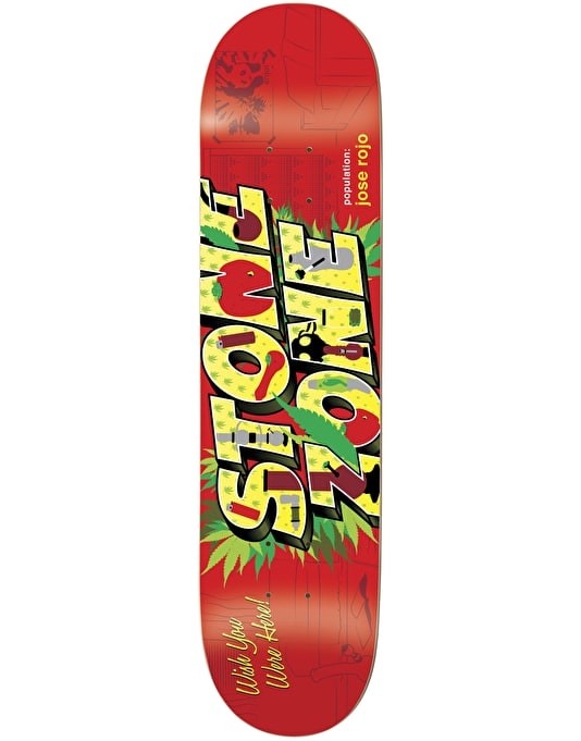 Enjoi Rojo Welcome To Pro Deck - 8""