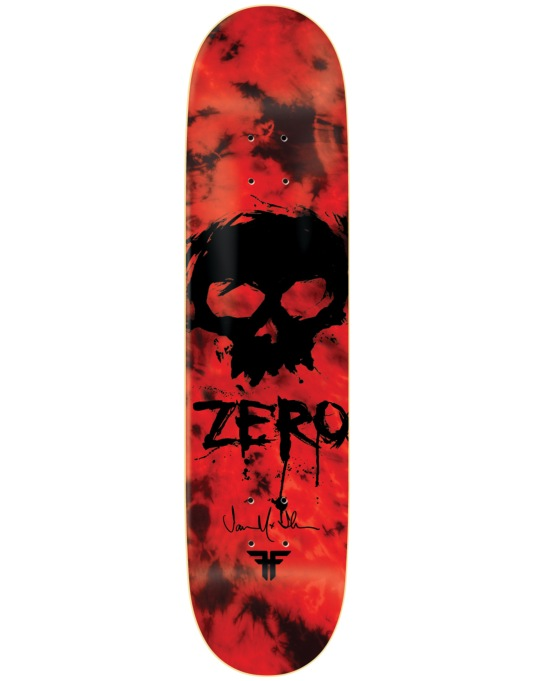 Zero x Fallen Thomas Blood Skull Pro Deck - 8.375""