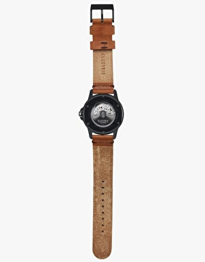 Electric Carroway Watch - Black/Tan