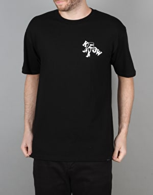 Kr3w x Fergus Purcell Legs T-Shirt - Black