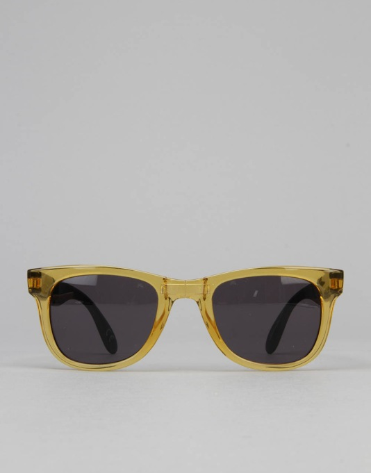 Vans Foldable Spicoli Sunglasses - Clear Honey