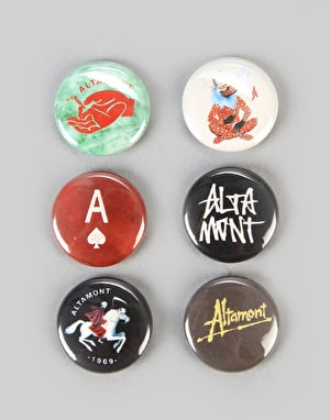 Altamont Shrapnel Button Pack - Assorted