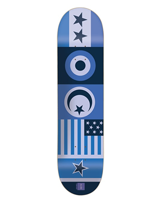 Chocolate Berle Flags Pro Deck - 8.125""