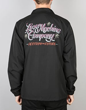 Loser Machine El Camino Coach Jacket - Black