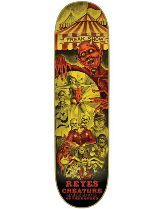 Creature Reyes Circus of the Damned Pro Deck - 8""