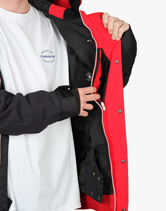 DC DCLA 2016 Snowboard Jacket - Tango Red