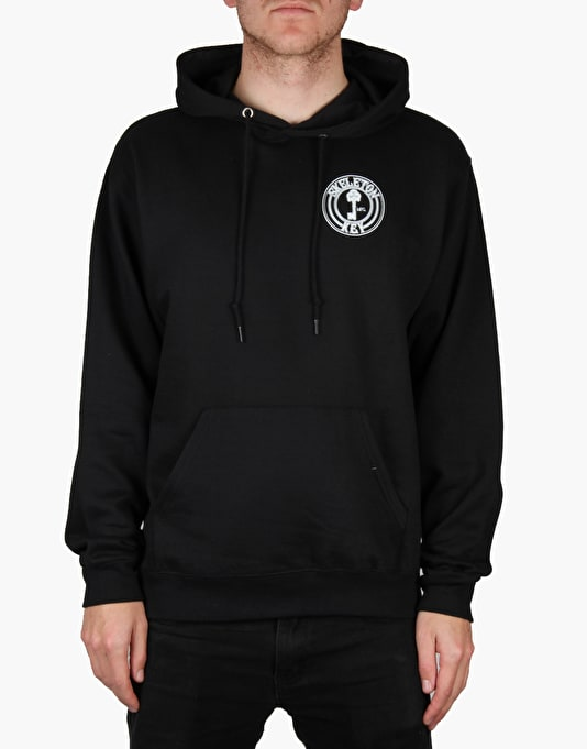Skeleton Key Factory Dot Pullover Hoodie - Black