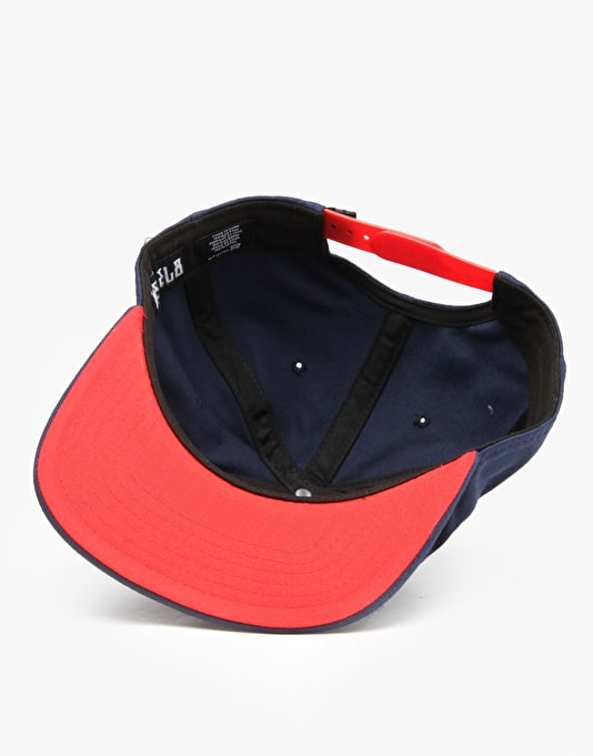 Rebel8 Raising Hell Snapback Cap - Navy