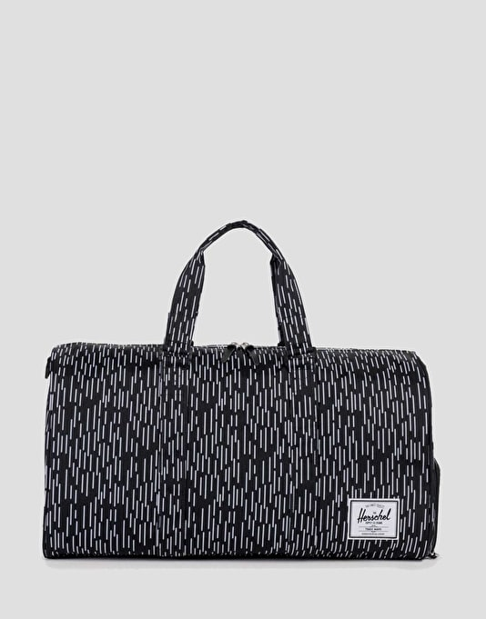 Herschel Supply Co. Novel Duffel Bag - Black/White Rain Camo