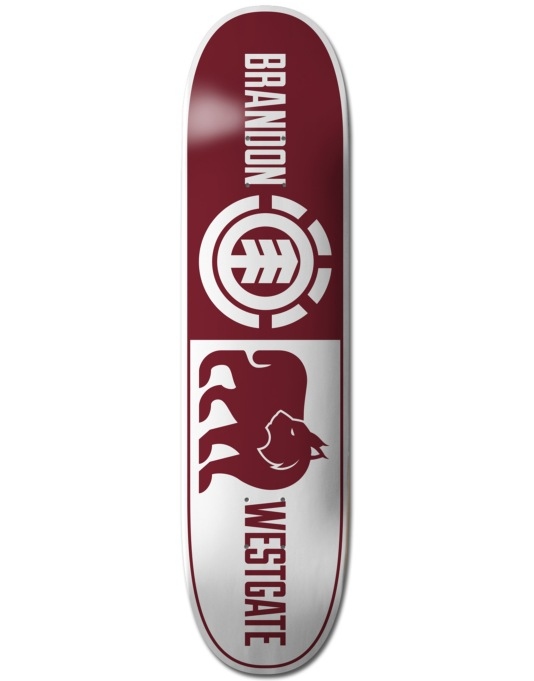 Element Westgate Split Featherlight Skateboard Deck - 8""