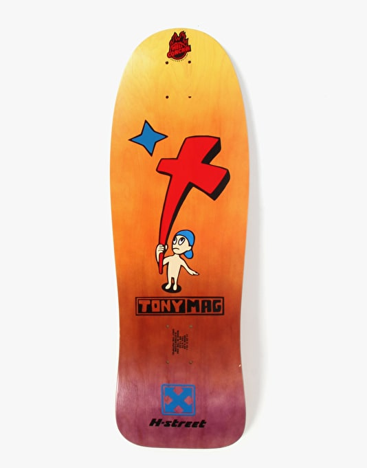 H-Street Tony Mag Kid and Cross Ltd Ed Fade Pro Deck - 10.1""