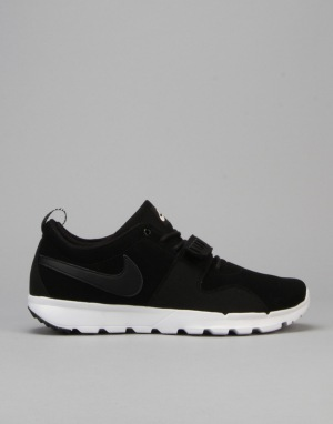 Nike SB Trainerendor Skate Shoes - Black/Black-White