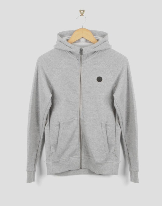 Volcom Pulli Boys Zip Hoodie - Heather Grey