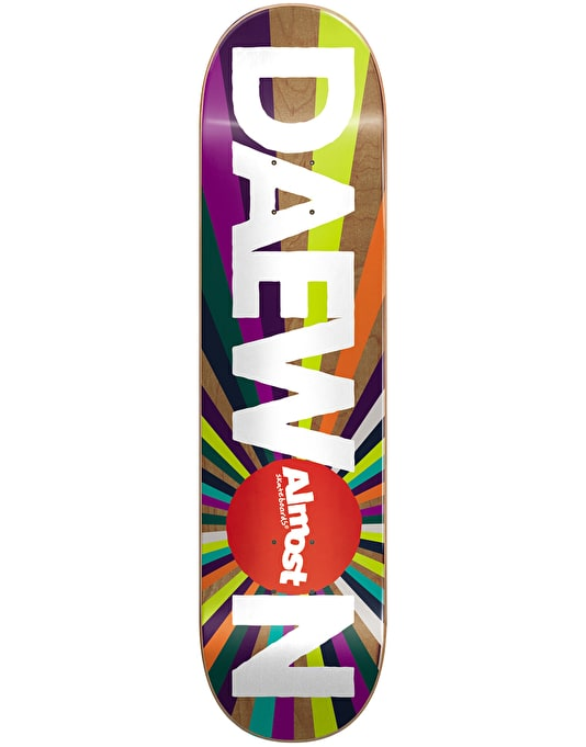 Almost Daewon Colour Wheel Pro Deck - 8.125""