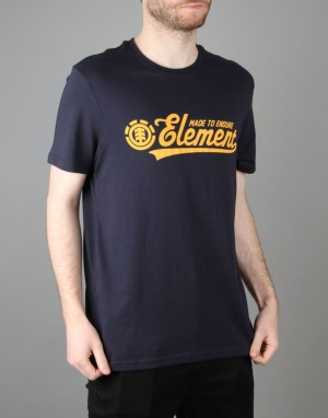 Element Signature S/S T-Shirt - Eclipse Navy