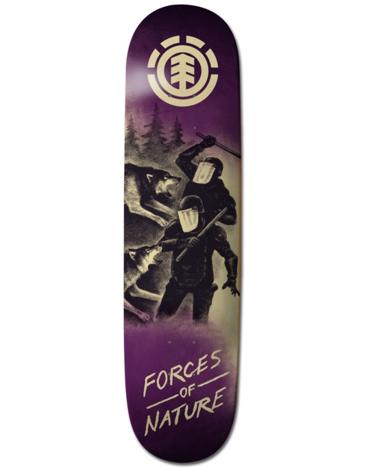 Element Forces of Nature Wolf Team Deck - 8.375""
