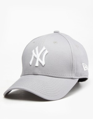 New Era 9Forty MLB New York Yankees Cap - Grey/White