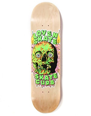 Lovenskate Skate Curb Team Deck - 8.125