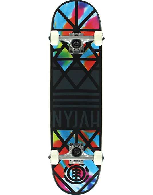 Element Nyjah Crown Tie Dye Twig Complete - 7.625""