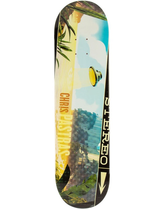 """Stereo Pastras UFO Sound & Space Series Pro Deck - 8.125"""""""