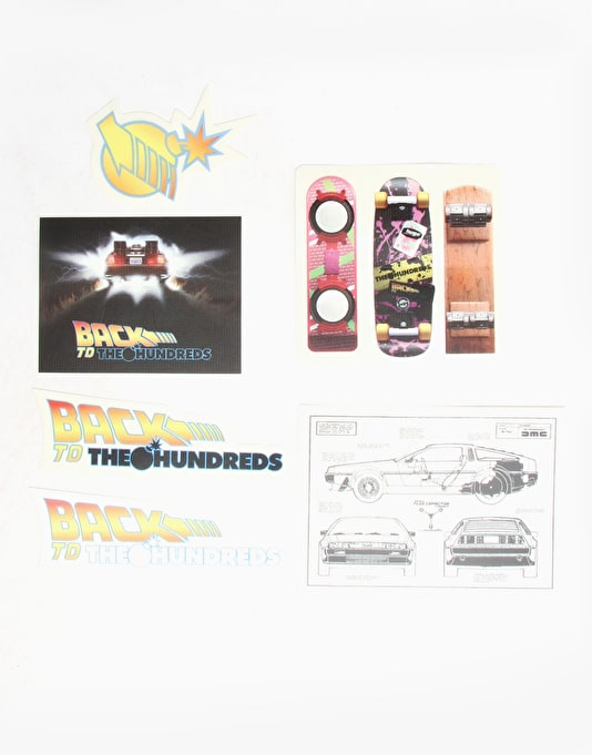 The Hundreds x Back to the Future Sticker Pack