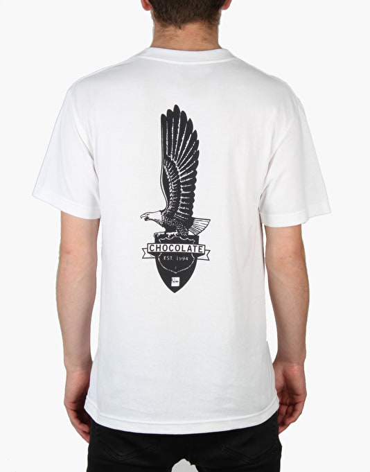Chocolate Eagle T-Shirt - White