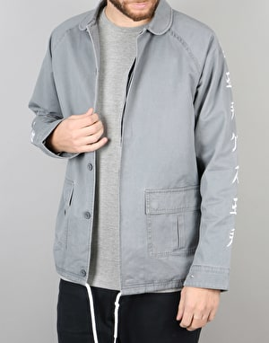 RIPNDIP Sex Panther Work Jacket - Washed Grey