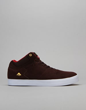 Emerica x Chocolate Hsu G6 Skate Shoes - Brown/White