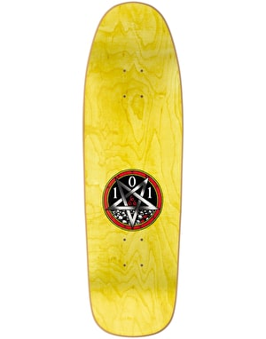 101 Natas Devil Worship Silkscreened Ltd Edition Pro Deck - 9.5