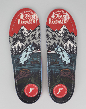 Footprint Terje Salmon 5mm Gamechangers Insoles
