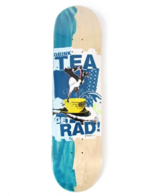 Lovenskate Drink Tea Get Rad Side Dip Dye Team Deck - 8