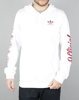 Adidas x Official Pullover Hoodie - White