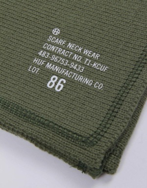 HUF Military Scarf - Olive