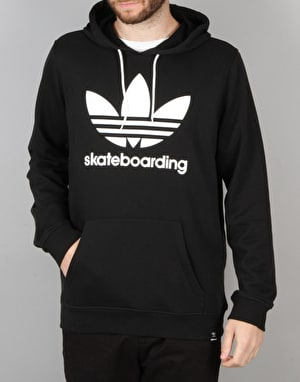 Adidas Climacool 3.0 Pullover Hoodie - Black/White
