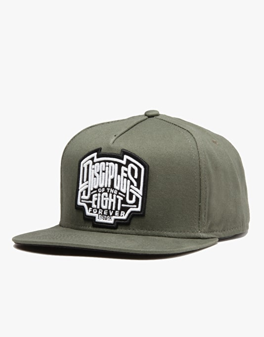 Rebel8 Disciples Of The Eight Snapback Cap - Olive  6fbe7d0a7747