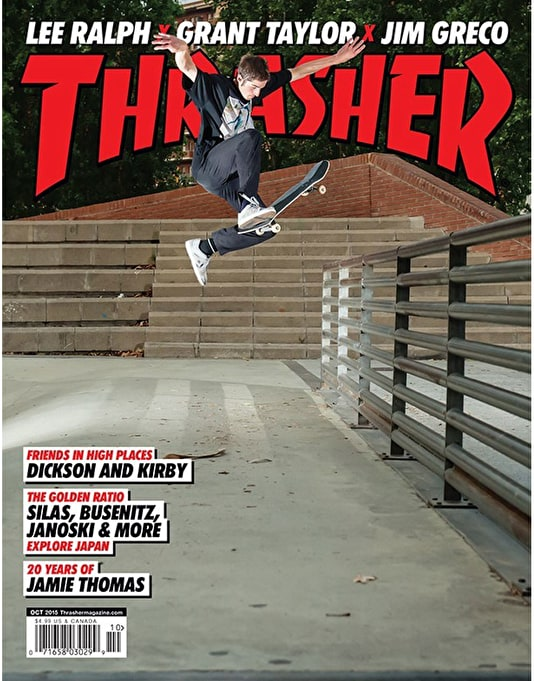 Thrasher Magazine Issue 423 October 2015