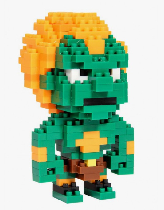Street Fighter Pixel Bricks - Blanka
