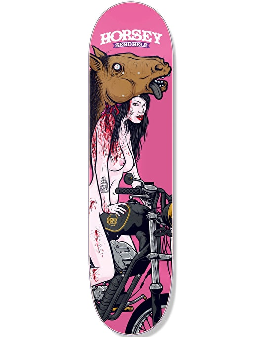Send Help Horsey Toy Horse Two Pro Deck - 8.25""