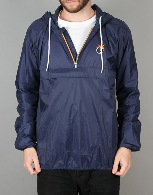 The Hundreds Circuit Windbreaker - Navy