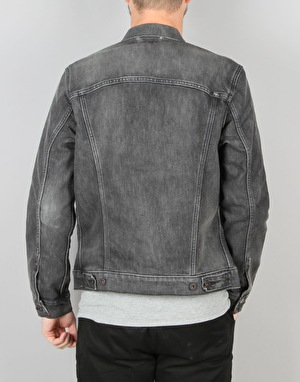 Levi's Skateboarding Type 2 Trucker Jacket - Black Battery
