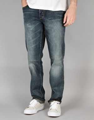 HUF Slim Fit Denim Jeans - Destroyed