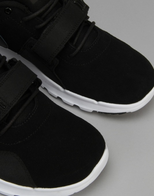 Nike SB Trainerendor L Skate Shoes - Black/White/Black